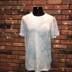 💙⛅️Light Blue Tie Dye Cloud Tee Good Fellow & Co